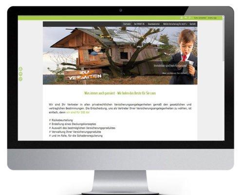 Webdesign für Versicherungmakler WWW-IT&WEB Consulting GmbH Wien